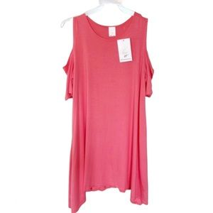 2 Blondes Apparel Tunic Top Pink New With Tags Sm